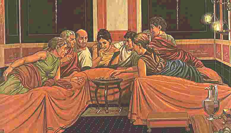 Rom essen im alten Das Alte